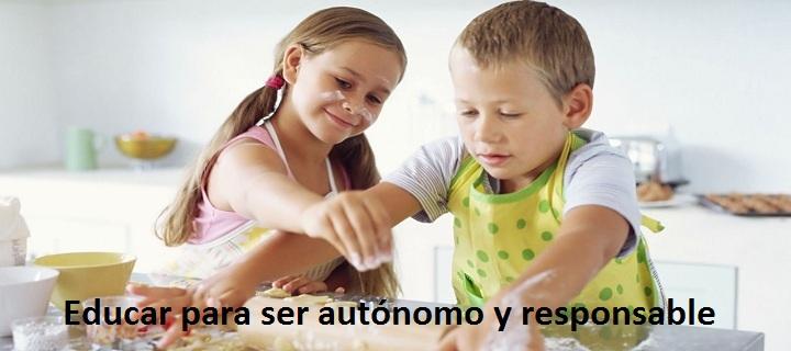 2.3.- Educar para ser autonomo y responsable